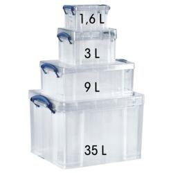 Really Useful Box Lot de boîtes de rangement
