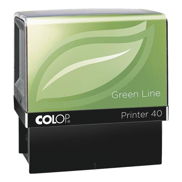 Colop Tampon auto-encreur « Printer 40 Green Line »