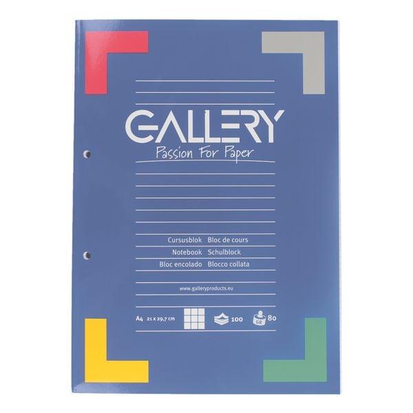 GALLERY cahier cahier A4 à carreaux, 100 feuille(s)