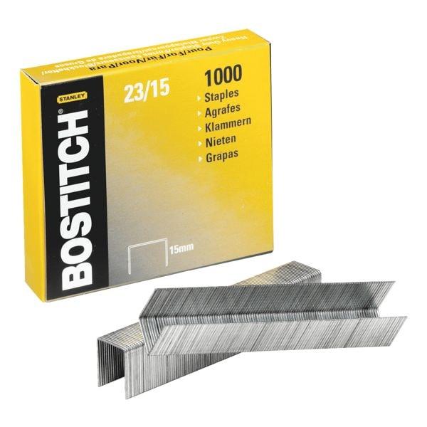 Bostitch Agrafes « 23-15-1M », 15 mm