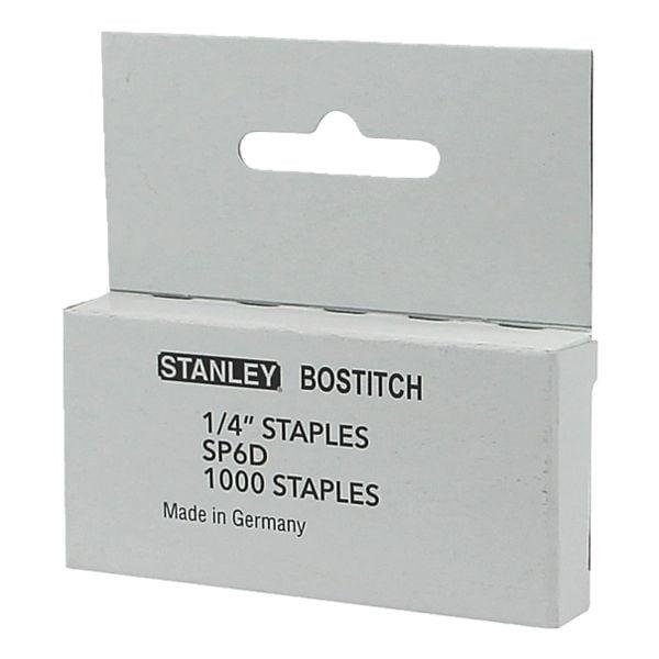 Bostitch Agrafes, 6 mm