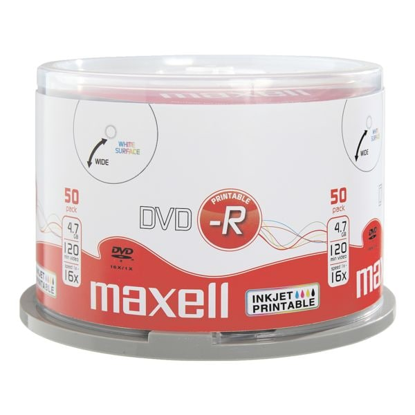 Maxell DVD vierges « DVD-R »