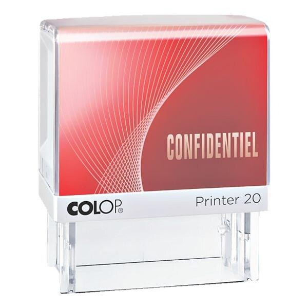 Colop Tampon à texte auto-encreur « Printer 20/L confidentiel »