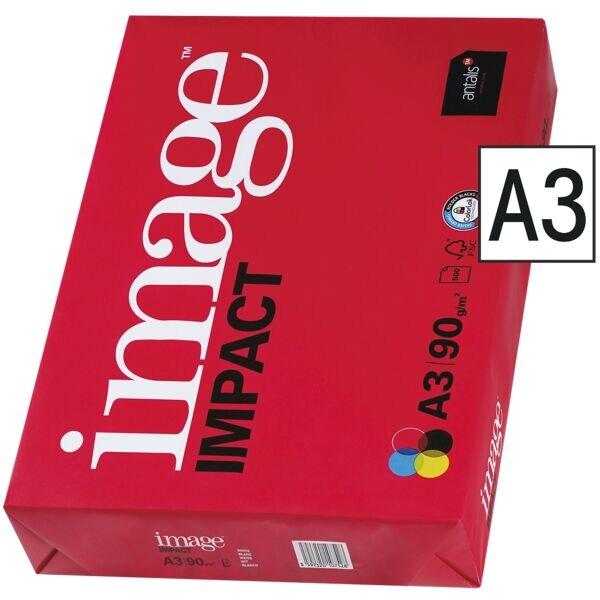 Papier multifonction A3 antalis image IMPACT - 500 feuilles au total