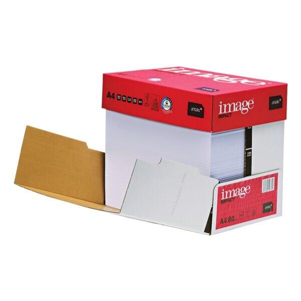 Papier multifonction A4 antalis image IMPACT - 2500 feuilles au total