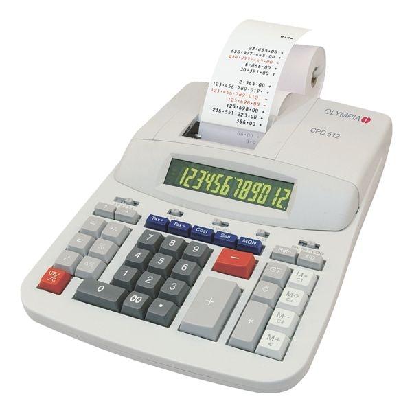 olympia calculatrice imprimante cpd 512 acheter prix conomique chez otto office. Black Bedroom Furniture Sets. Home Design Ideas