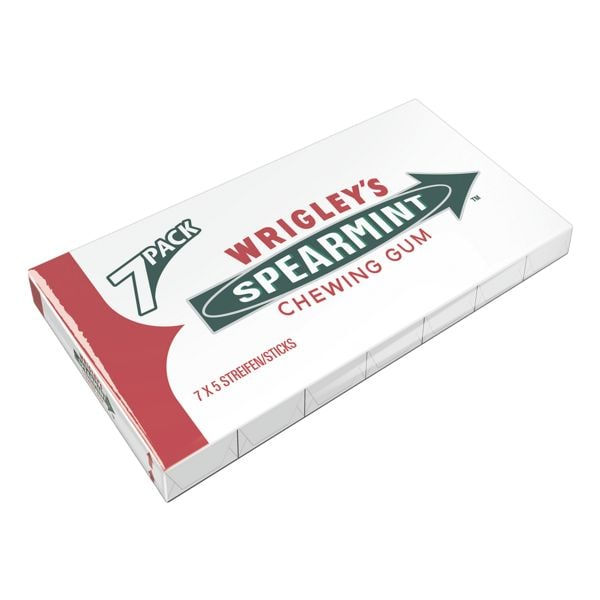 WRIGLEYS SPEARMINT Chewing-gums « Spearmint »