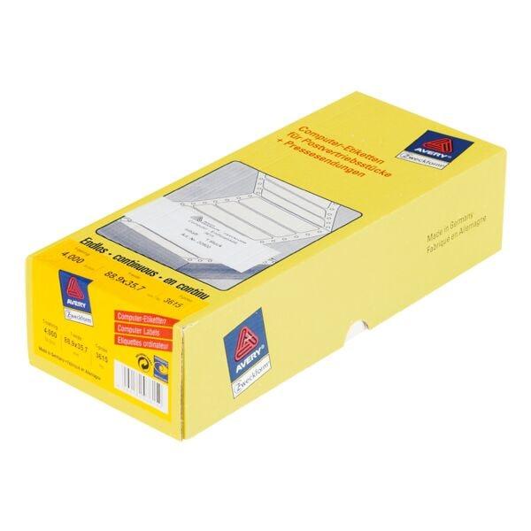 Avery Zweckform Paquet de 4000 étiquettes ordinateur « 3615 »