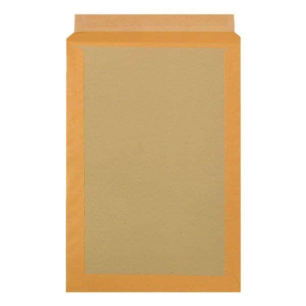 BONG 100 pochettes d'expédition avec dos en carton, C4 120 g/m² sans fenêtre