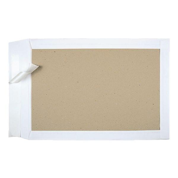 BONG 100 pochettes d'expédition avec dos en carton, C4 100 g/m² sans fenêtre