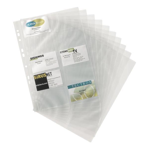 Durable pochette de rechange Visifix A4 grainé - 10 pièce(s)
