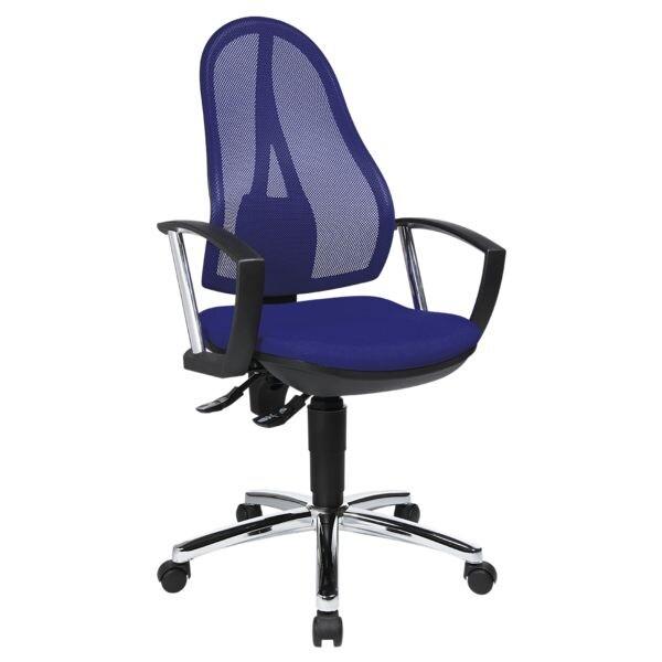 chaise / siège de bureau Topstar »Open Point P Plus« avec accoudoirs