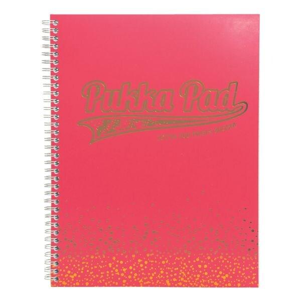 Pukka Pad cahier à spirale Blush Jotta Pad A4 à carreaux, 100 feuille(s)