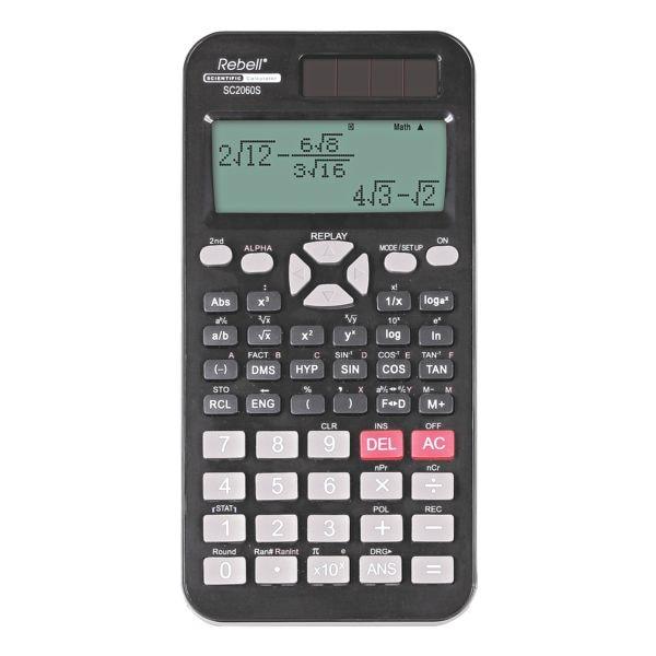 Rebell Calculatrice d'école « SC2060S »