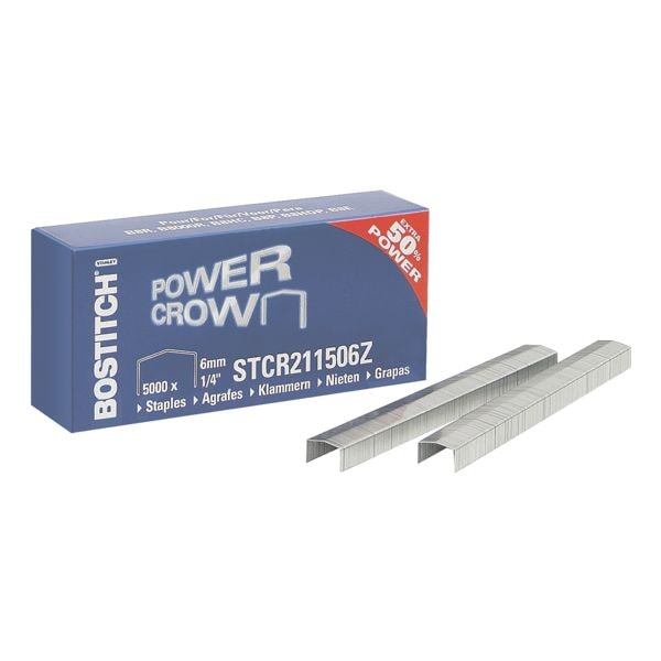 Bostitch Agrafes « PowerCrown 2115 » 6 mm