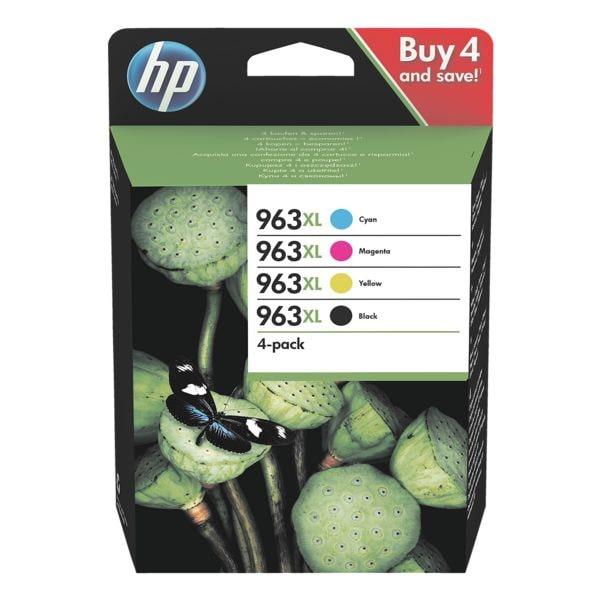 HP Lot de cartouches jet d'encre HP 963XL High Yield - 3YP35AE#BGX