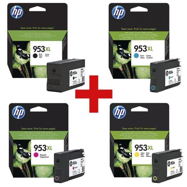 HP Cartouche jet d'encre HP 953XL paquet multiple  - 3HZ52AE