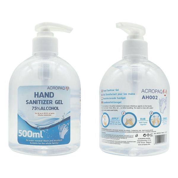 Acropaq Gel désinfectant 500 ml