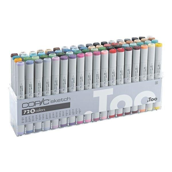 COPIC® Sketch Lot de 72 marqueurs COPIC® Sketch B