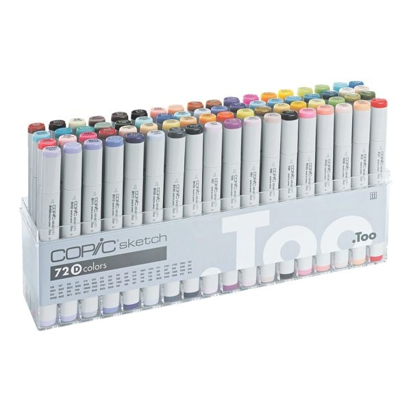 COPIC® Sketch Lot de 72 marqueurs COPIC® Sketch D