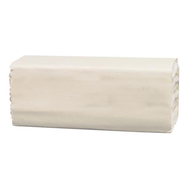 Essuie-mains en papier Satino comfort 2 épaisseurs, blanc, 25 cm x 32 cm de Papier recyclé avec pliage en C - 3072 feuilles au total