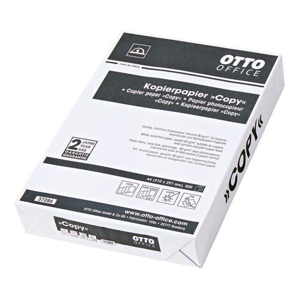Papier photocopieur A4 OTTO Office Budget COPY - 500 feuilles au total, 80g/m²