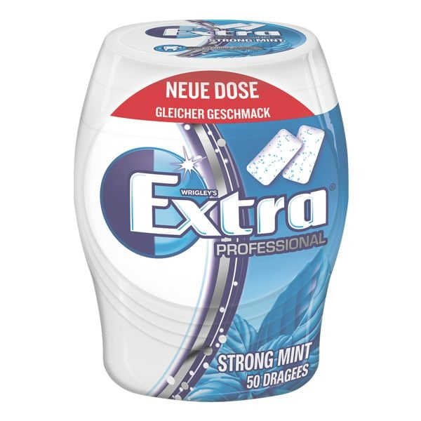 WRIGLEY´S Extra PROFESSIONAL Chewing-gums «Extra Professional Strong Mint »