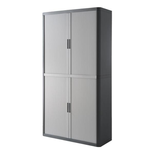 easyoffice armoire easy office verrouillable 110 x 204 cm. Black Bedroom Furniture Sets. Home Design Ideas