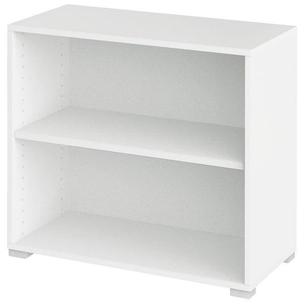 Aktenregal »Objekt Plus« 2 OH breit | Büro > Büroregale > Standregale | Abs - Kunststoff | röhr