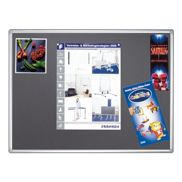 Filz-Pinnwand »PRO PT830512« 180 x 120 cm | Büro > Tafeln und Boards | Franken