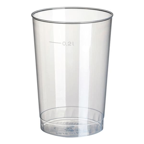 Trinkbecher PP 0,2L transparent