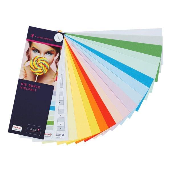 Farbfächer (Muster) bei Office Discount - Bürobedarf
