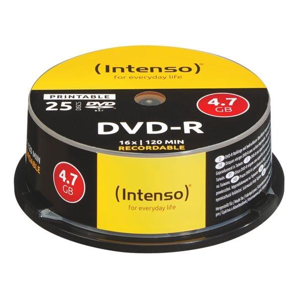 Intenso DVD-Rohlinge »Printable DVD-R« 4801154