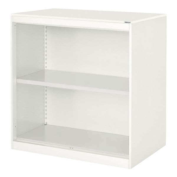 Aktenregal-Aufsatzelement aus Stahl »Kontoro« 85 cm | Büro > Büroregale > Standregale | Stahl | mauser