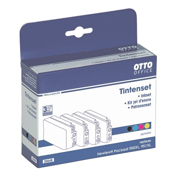 OTTO Office Standard Tintenpatronen-Set ersetzt HP »C2P43AE« Nr. 950XL/951XL