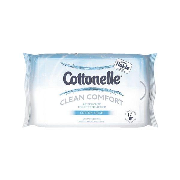Feuchte Toilettentücher »Cottonelle CLEAN COMFORT Cotton Fresh«
