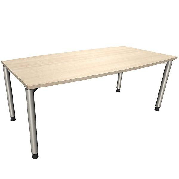 Konferenztisch »Fastline« 180 cm | Büro > Bürotische > Konferenztische | fm Büromöbel