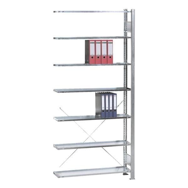 Anbauelement »Steckregal Multiplus 7 OH« einfache Tiefe | Baumarkt > Werkbank | SCHULTE Lagertechnik