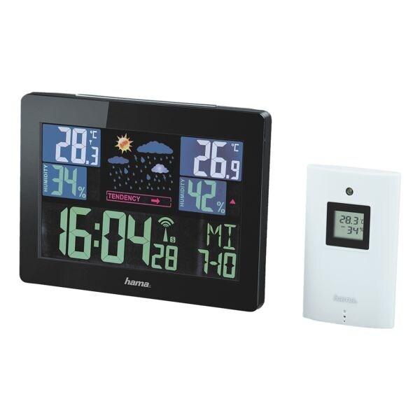 Wetterstation »Color EWS-1400« | Baumarkt > Heizung und Klima | Schwarz | Hama