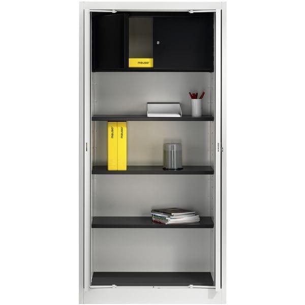 Stahlschrank mit Einschwenktüren bei Office Discount - Bürobedarf