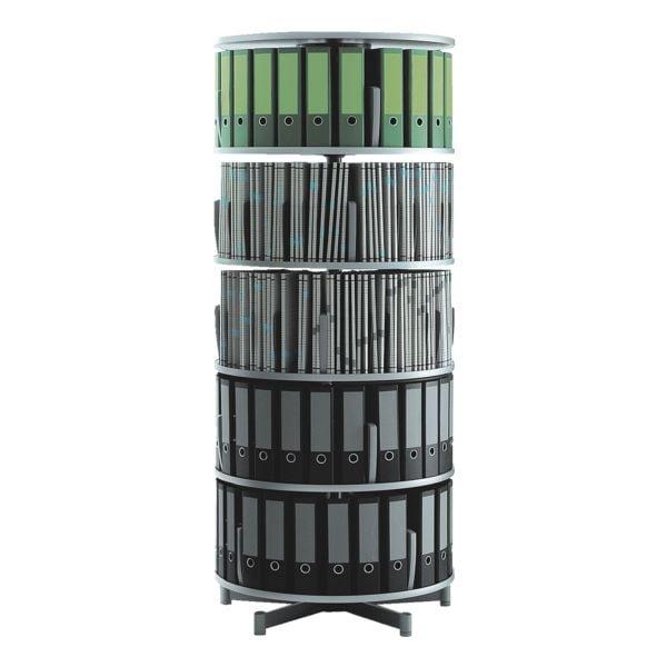 rotafile flex 5 etagen 120 ordner preisvergleich b rom bel g nstig kaufen bei. Black Bedroom Furniture Sets. Home Design Ideas