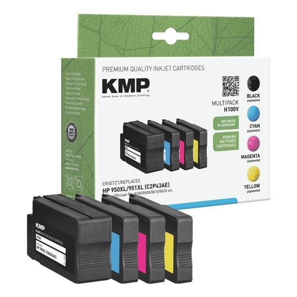 KMP Tintenpatronen-Set ersetzt HP »C2P43AE« Nr. 950XL/951XL