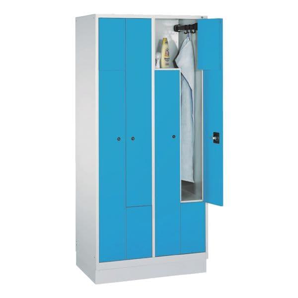 Garderobenschrank mit Z-Türen bei Office Discount - Bürobedarf
