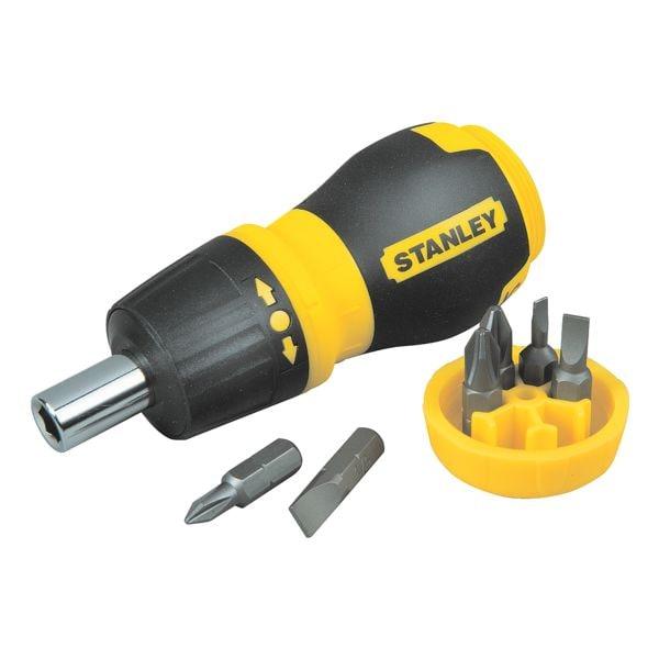 Bit-Schraubendreher-Set 7-tlg. | Baumarkt > Werkzeug > Werkzeug-Sets | Stanley