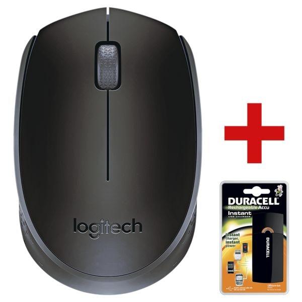 Kabellose Maus »B170« inkl. USB-Ladegerät »Instant Charger« bei Office Discount - Bürobedarf