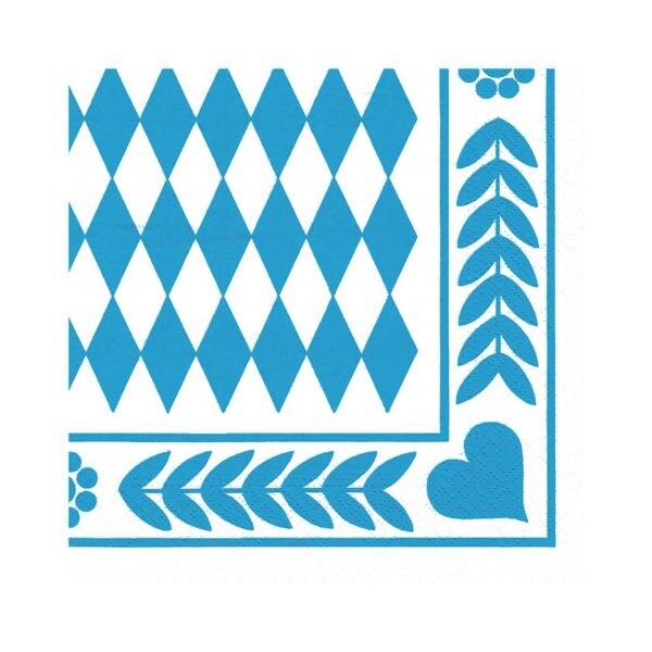 Servietten »Bayrisch Blau« bei Office Discount - Bürobedarf