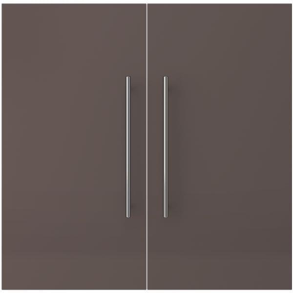Tür für Regal »BRW Express 80 cm breit 2 OH« bei Office Discount - Bürobedarf