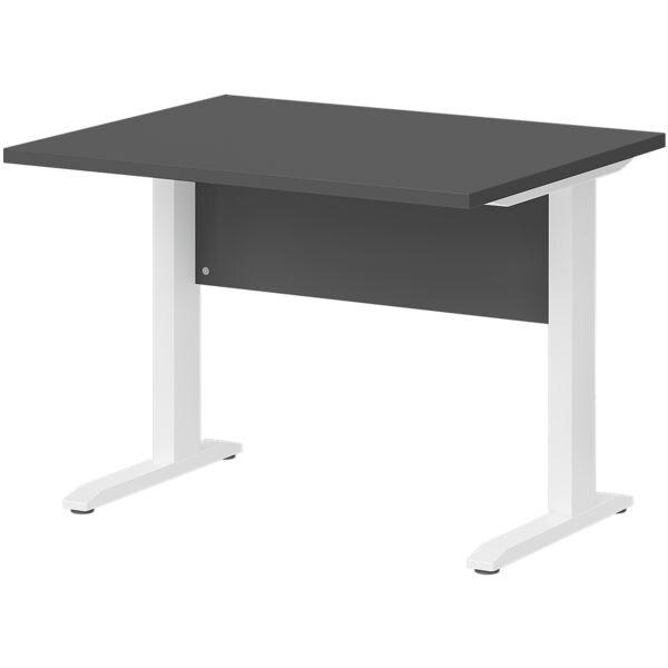 Schreibtisch »Planeo white« 100 cm C-Fuß bei Office Discount - Bürobedarf