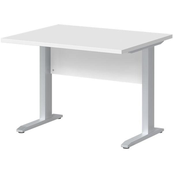 Schreibtisch »Planeo« 100 cm C-Fuß bei Office Discount - Bürobedarf