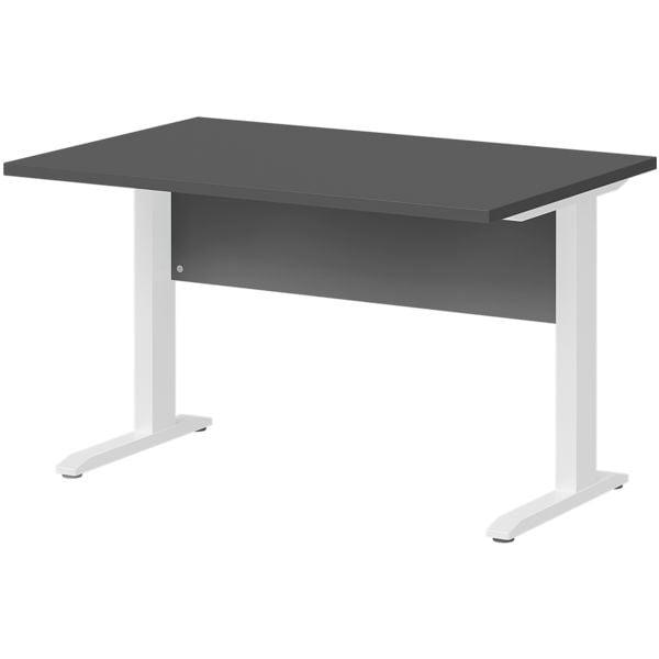 Schreibtisch »Planeo white« 120 cm C-Fuß bei Office Discount - Bürobedarf